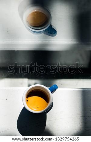 Morning espresso cup #1329754265