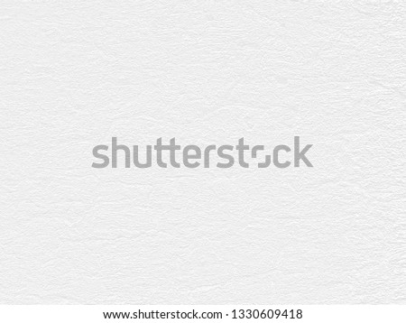 White Paper Texture also look like white cement wall texture. The textures can be used for background of text or any contents on christmas or snow festival. #1330609418