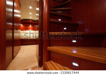Luxury yacht sea #1330817444