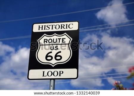 Route 66 in Arizona #1332140039