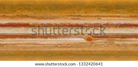 Texture of surface of Jupiter. Elements of this image furnished by NASA.