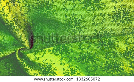 texture background pattern. green cloth. This is available for your design: wallpaper cards posters. Brilliant for unusual projects, because these fabrics are not outdated ! #1332605072