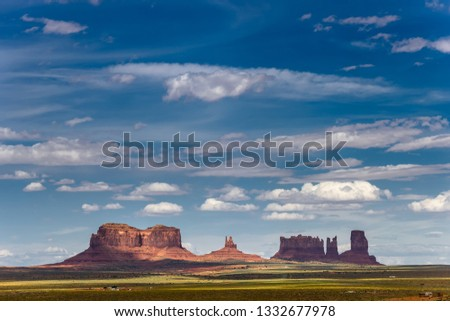 Monument Valley Rock Formations, USA #1332677978