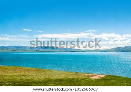 Scenery of the Cuonahu Lake, Scenery along the Qinghai-Tibet Railway, Tibet, China #1332686969