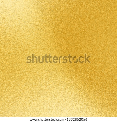 Gold Background, Gold Foil Background, Golden Texture. #1332852056