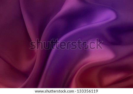 Purple and red silk fabric background - soft, elegant and delicate