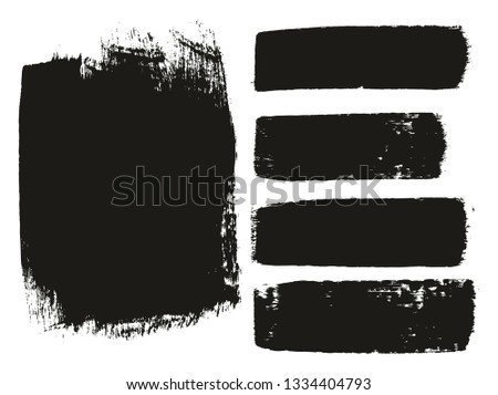 Paint Brush Medium Background & Lines High Detail Abstract Vector Background Mix Set 09 #1334404793