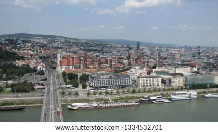 View of Bratislava, Slovakia #1334532701