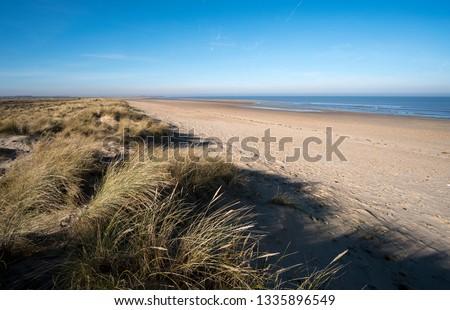 Brancaster beach scenery image