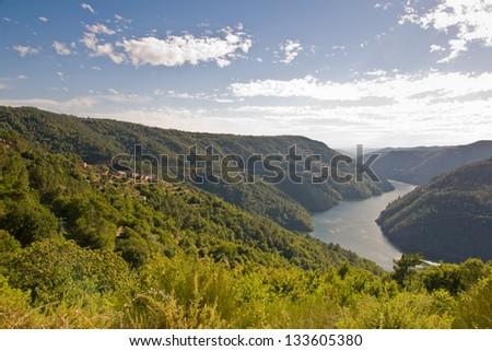 Sil canyon, Ribeira Sacra, Ourense, Galicia, Spain #133605380