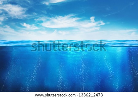 BLUE UNDER WATER - Image  #1336212473