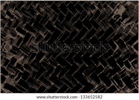 Black grunge background with  tire track