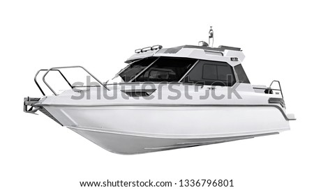 The image of motor boat #1336796801
