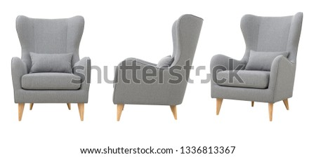 Chair in the Scandinavian style, various foreshortening #1336813367