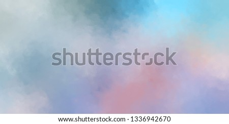 Brushed Painted Abstract Background. Brush stroked painting. Strokes of paint. 2D Illustration. #1336942670