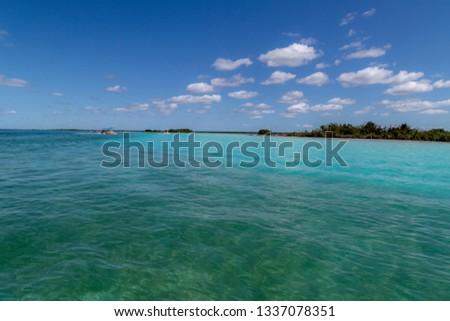 Bacalar (lagoon of the seven colors) Quintana Roo Mexico #1337078351