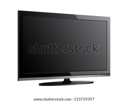 Vector illustrations of lcd screen. File is in eps10 format. #133759397