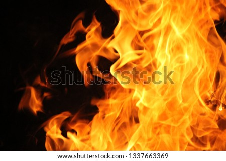 Blurrd Blaze fire flame texture background. #1337663369