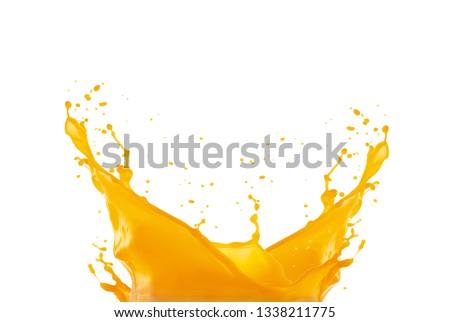 MANGO FRUIT JUICE SPLASH #1338211775