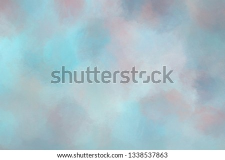 Abstract digitally painted background effects. Texture detail visible at full resolution. #1338537863