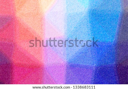 Abstract illustration of blue and brown Color Pencil High Coverage background #1338683111