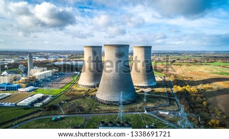 Didcot Power Station Royalty-Free Stock Photo #1338691721