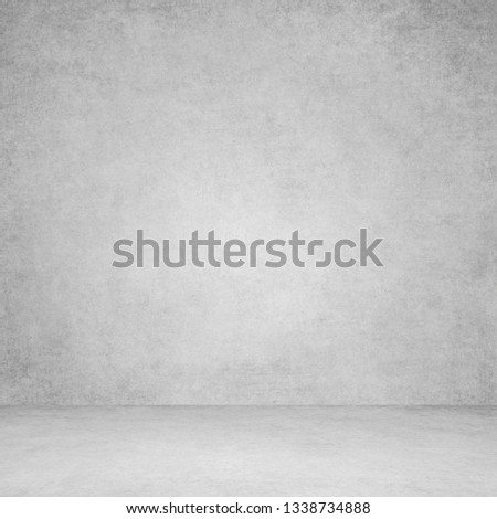 Designed grunge texture. Wall and floor interior background #1338734888