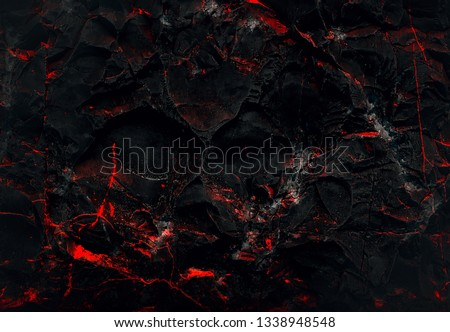 Wall abstraction. Dark Backgrounds. Lava frozen. Paint spots. Rock surface with cracks. Rock background. Abstract texture. Rock texture. Stone background. Stone texture. Structure.  #1338948548