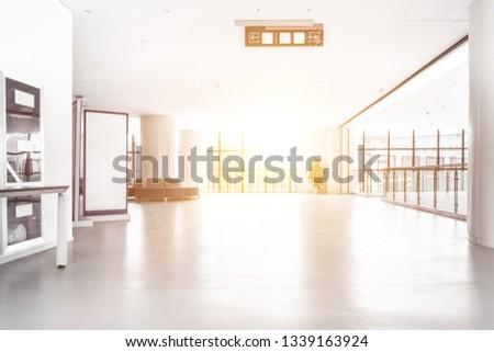showroom with nobody #1339163924