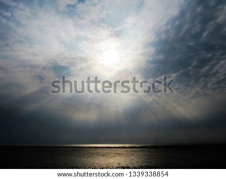 sky, clouds and sun #1339338854