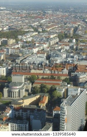 Berlin city from high #1339585640