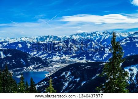 Beautiful Mountain View #1340437877