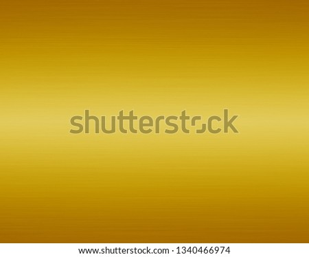 Gold metal texture or yellow steel plate background #1340466974