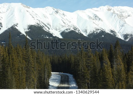 Canadian Rocky Mountains #1340629544