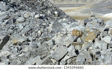 Lithium, Mining - Natural Resources, Lithium-Ion Battery, Material, Rock - Object,  #1341096860