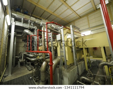 Steam turbine generator systems in Combined-Cycle Co-Generation Power Plant. #1341111794