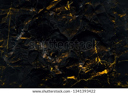 Dark Backgrounds. Wall abstraction. Lava. Paint spots. Rock surface with cracks. Rock backgrounds. Abstract texture. Rock texture. Stone background. Stone texture. Structure.  #1341393422