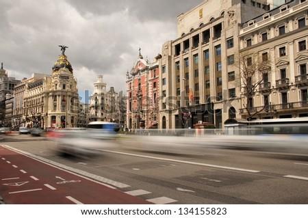 Gran Via, Madrid #134155823