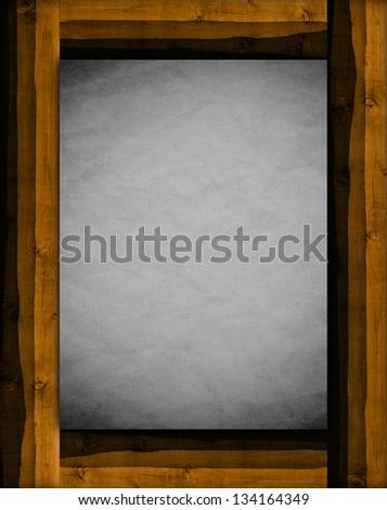 Wooden Frame #134164349