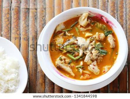Tom Yum soup included in Thai #1341844598