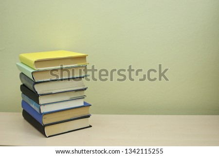 Stack of books #1342115255