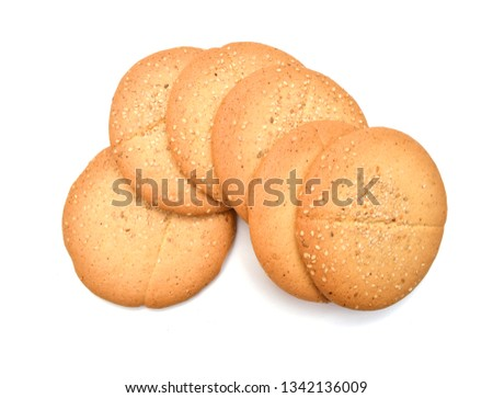 cookies isolated on white background  #1342136009