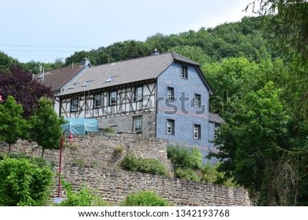 old half-timbered house #1342193768