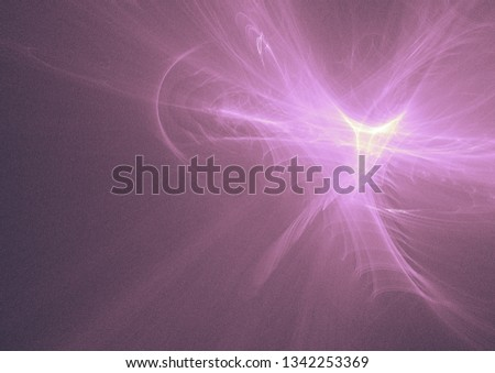 fractal light art design background #1342253369