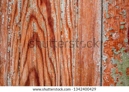 Wooden texture with scratches and cracks #1342400429
