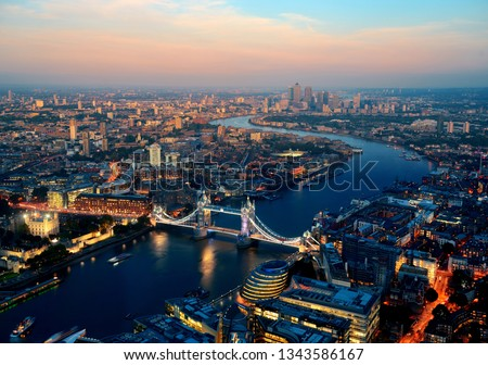 Nice view from capital of England - LONDON #1343586167