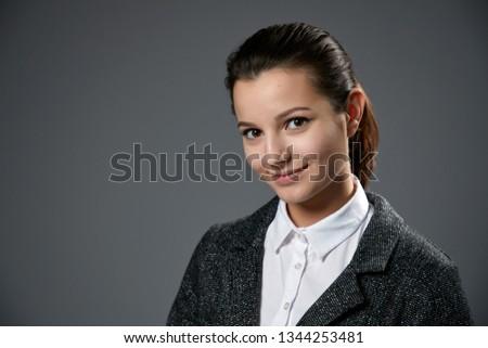 Business woman portrait . #1344253481