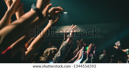 Hands Raised In Worship #1344556592