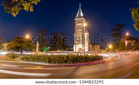 """""""Chicken Church"""" , Da Lat at night  #1344823295"""