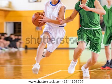 Basketball match venue #1344903707